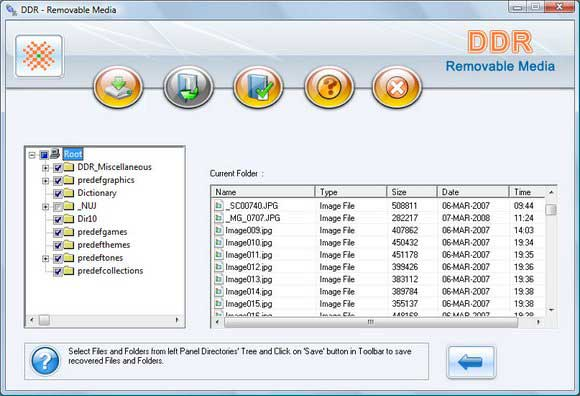 Recover Flash Drive screen shot