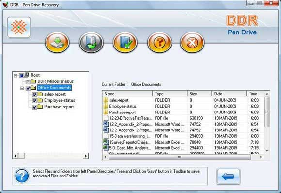 USB Drive Data Recovery Software screen shot