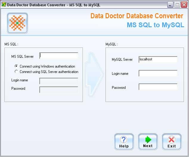 MSSQL to MySQL Converter