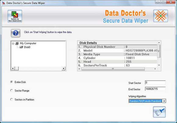 Secure Data Wiper