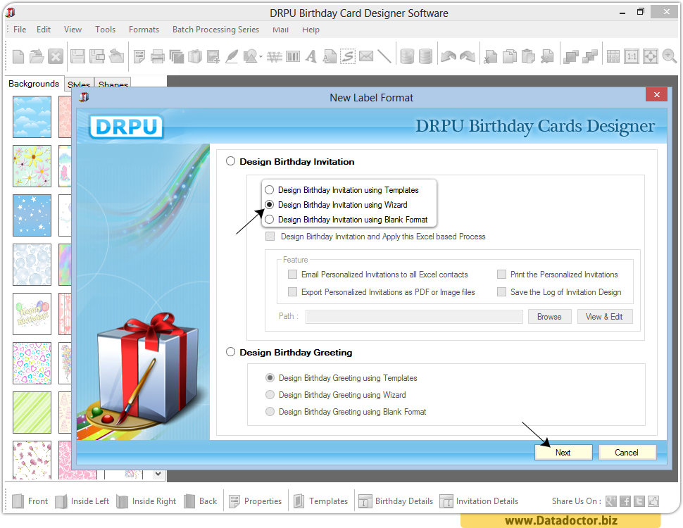 Birthday card maker software – Invitation Card Design Software