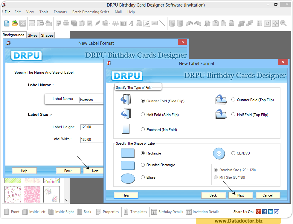 Birthday Cards Maker Software