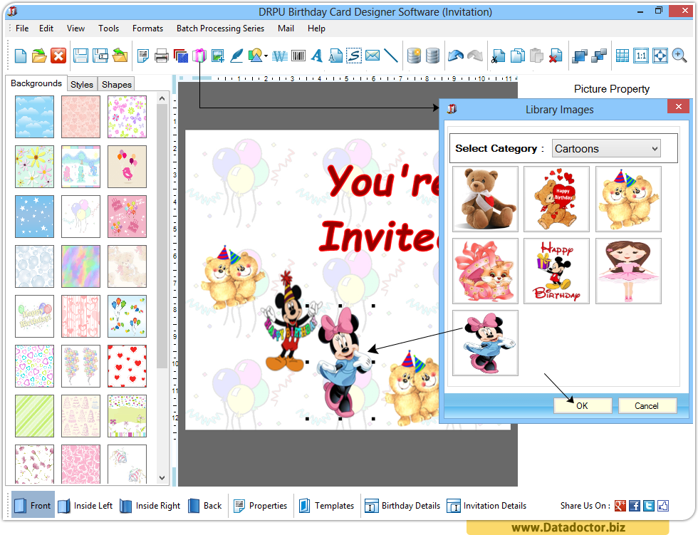 Birthday Cards Software