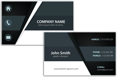 Business Card Designing Software Create Unique Personal Visiting Cards