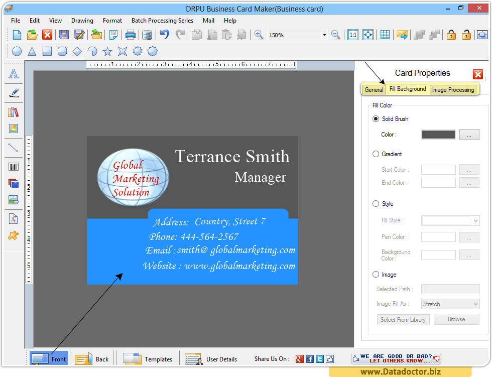 business card designing software - Business Card Maker Software