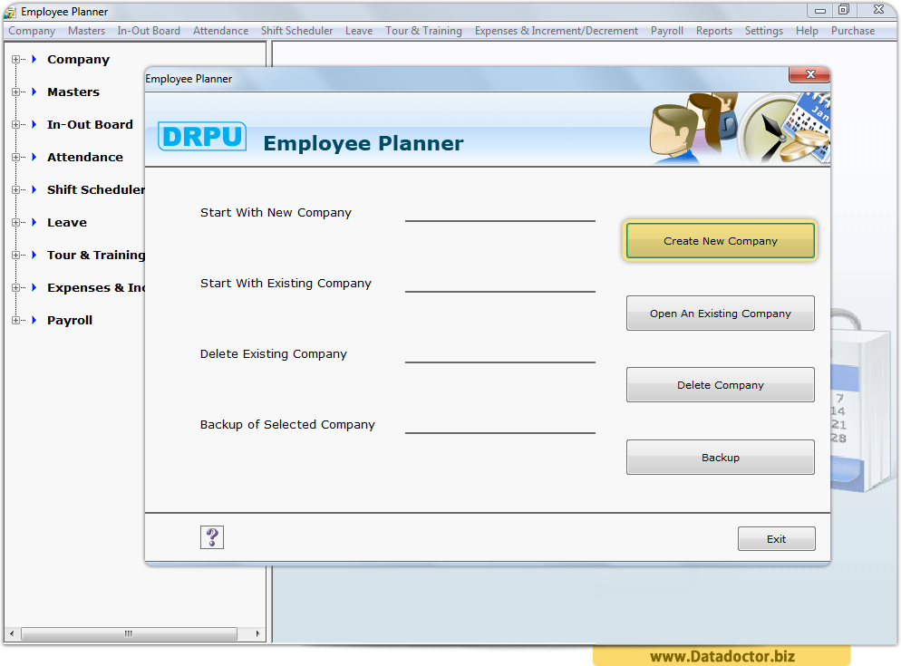 Employee Planner Software