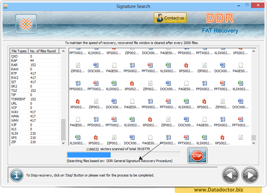 Data Recovery Software for FAT file system
