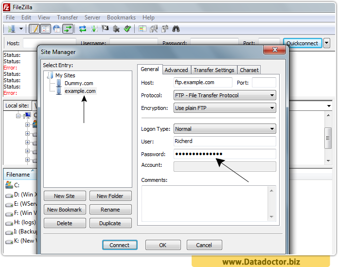 Password Recovery Tool For FileZilla