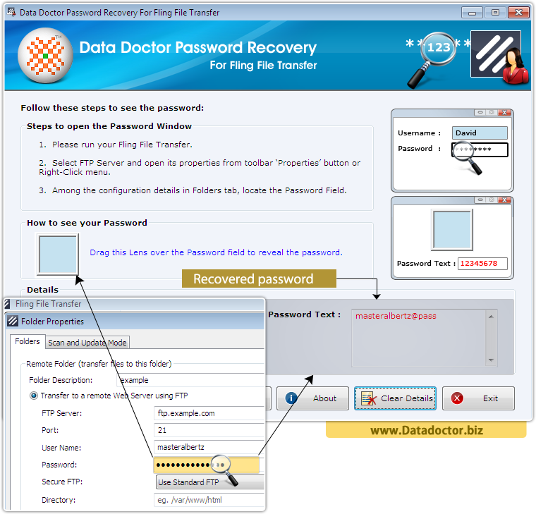 Data Doctor Password Restore For Fling File Transfer