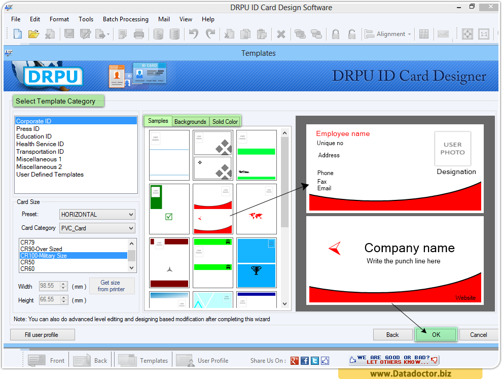 Id card design software for mac download