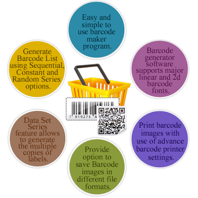 Barcode Label Maker - Inventory Control Features