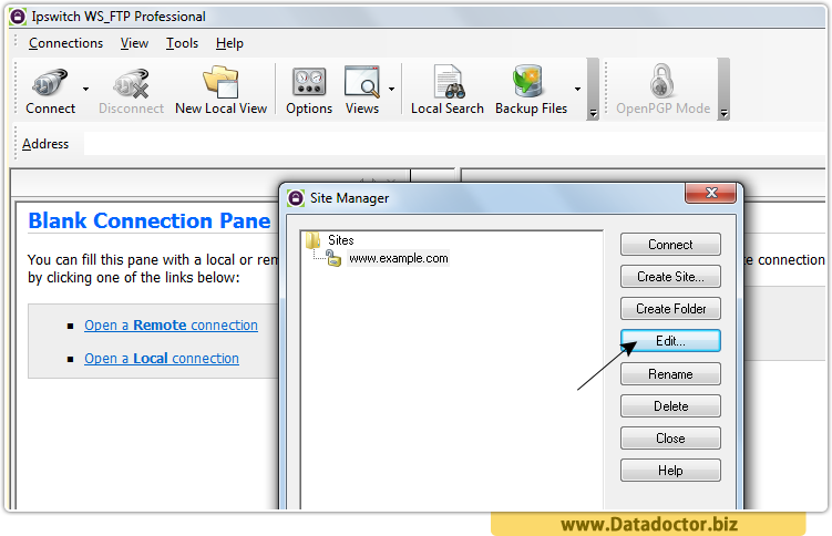 Data Doctor Password Recovery Software For Ipswitch WS_FTP