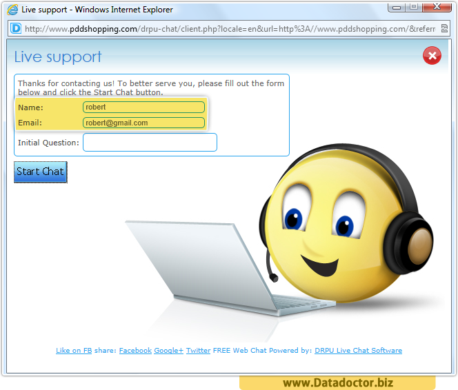 Online Live Chat Software
