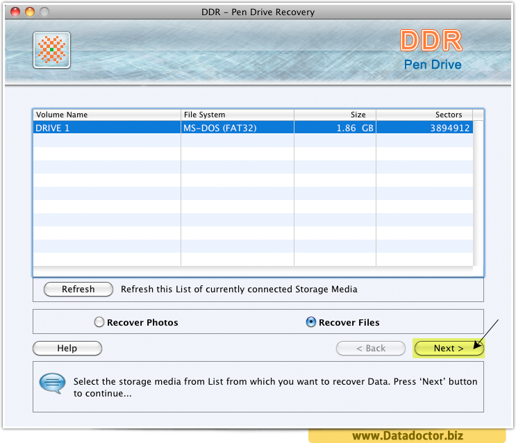 Pen Drive Data Recovery Software For Mac