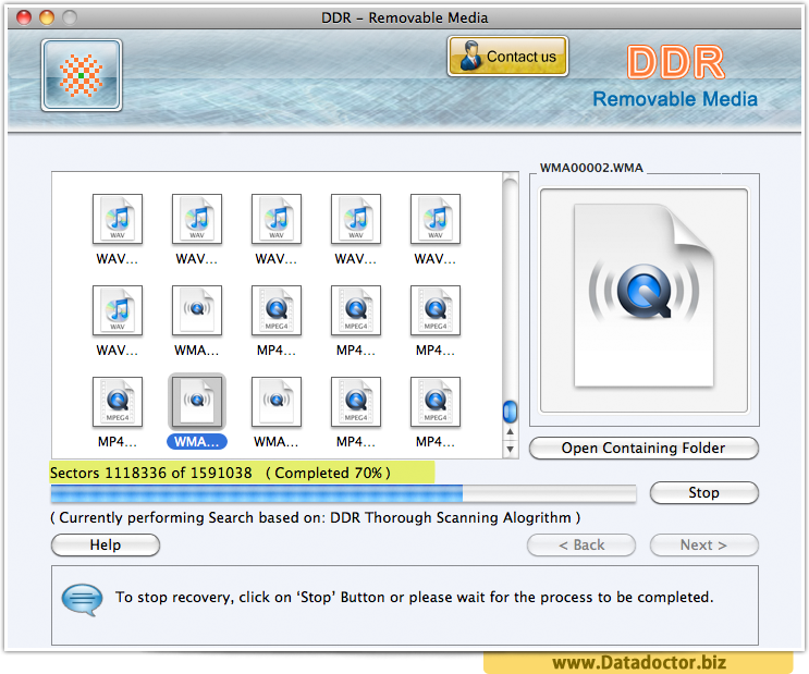 Mac Removable Media Data Recovery Software