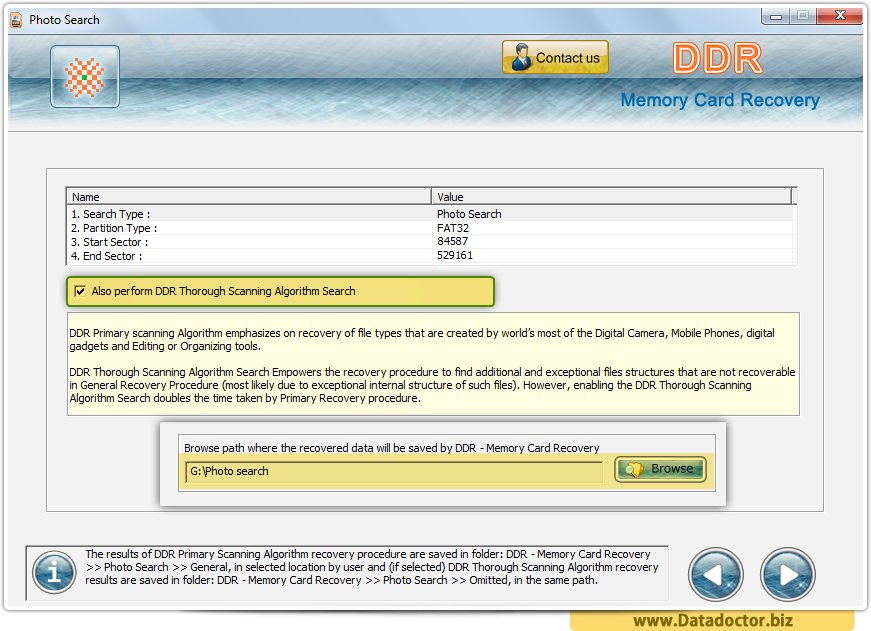 ddr memory card recovery software for pc