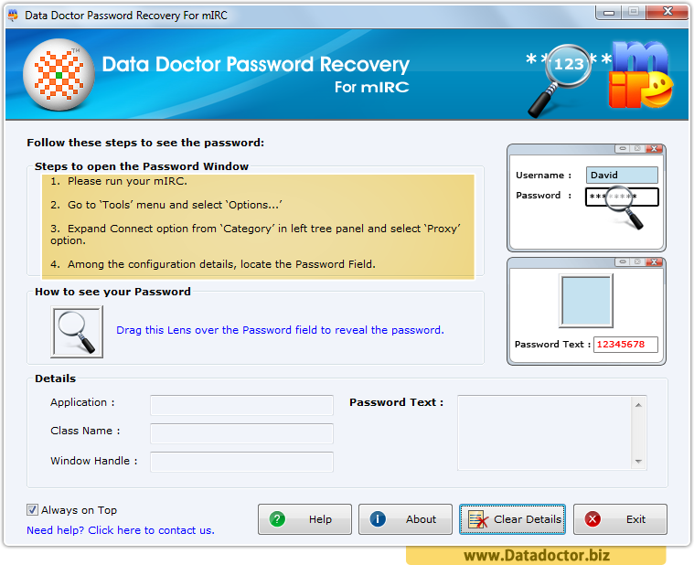 Password Recovery For mIRC