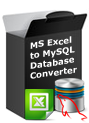 MS Excel to MySQL Database Converter