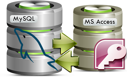 MySQL to MS Access Database Converter