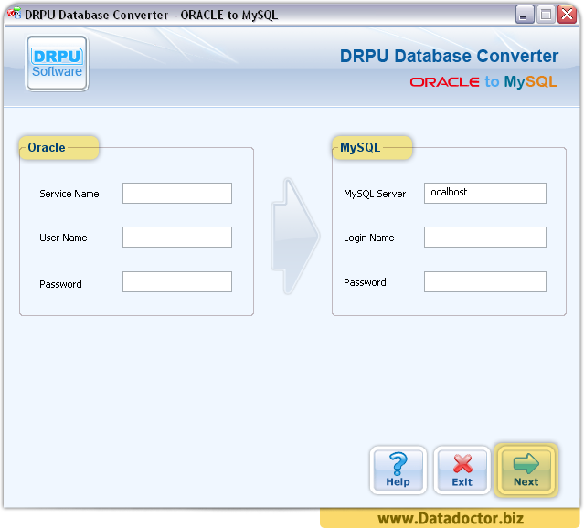 how to connect to mysql database in dreamhost servers