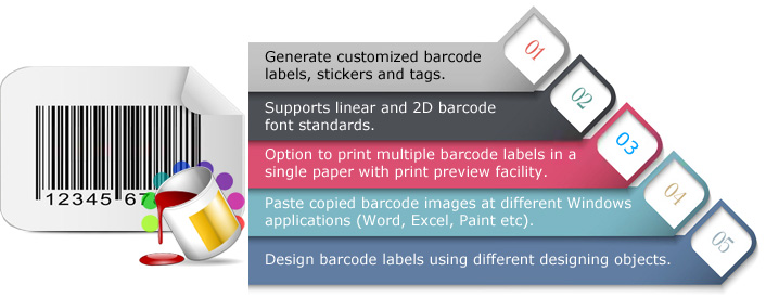 Barcode Label Maker - Professional Features