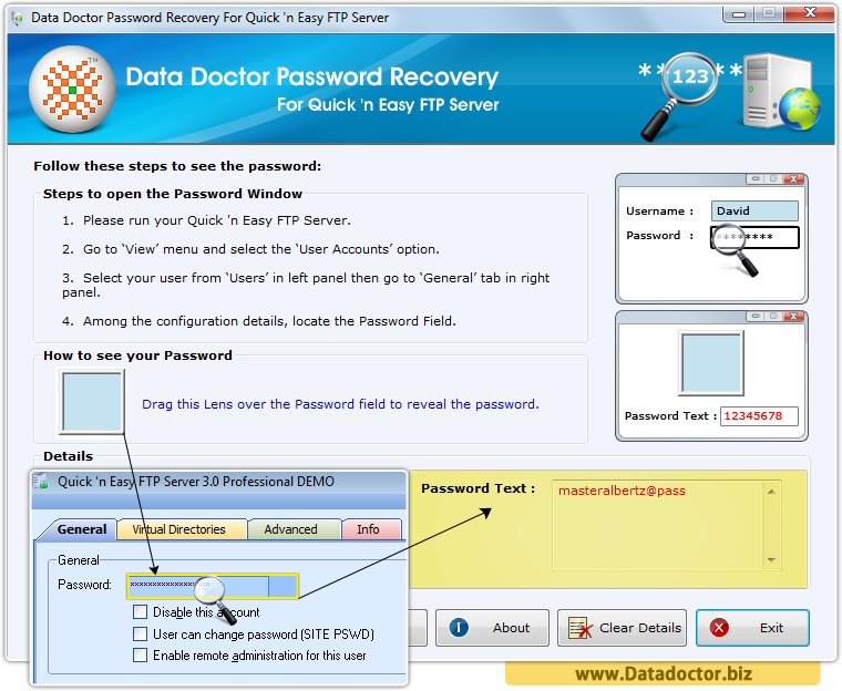 Data Doctor Password Recovery Software For BitKinex