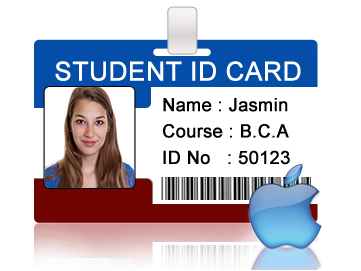 Students Student For Design Maker Mac Cards Id Multiple
