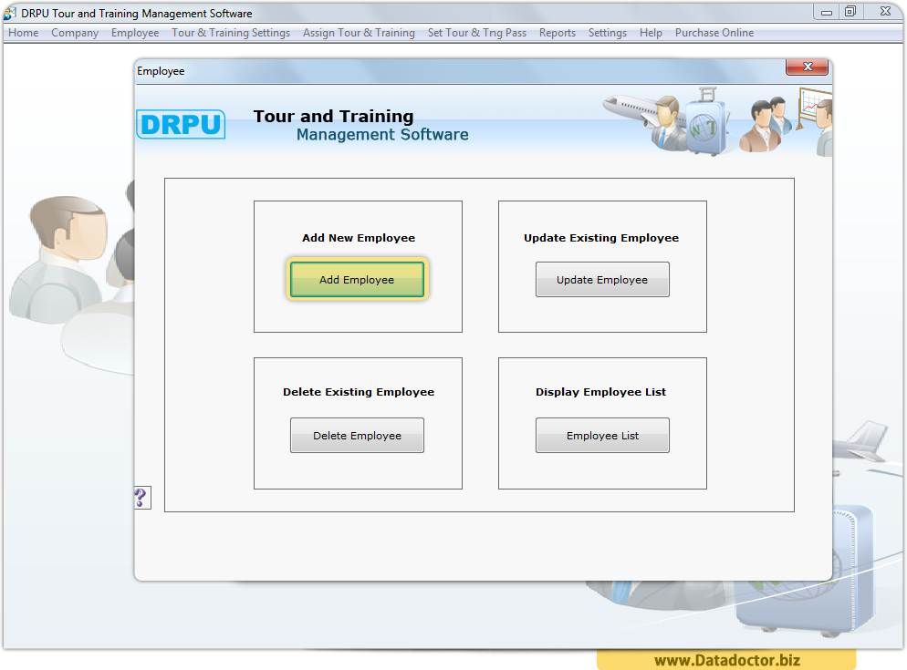 Tour and Training Management Tool