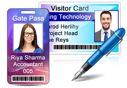 Visitors ID Gate Pass Maker