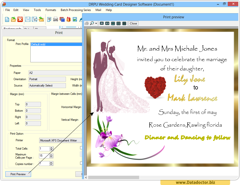 Wedding card designing software design beautiful invitation cards wedding cards designing software stopboris